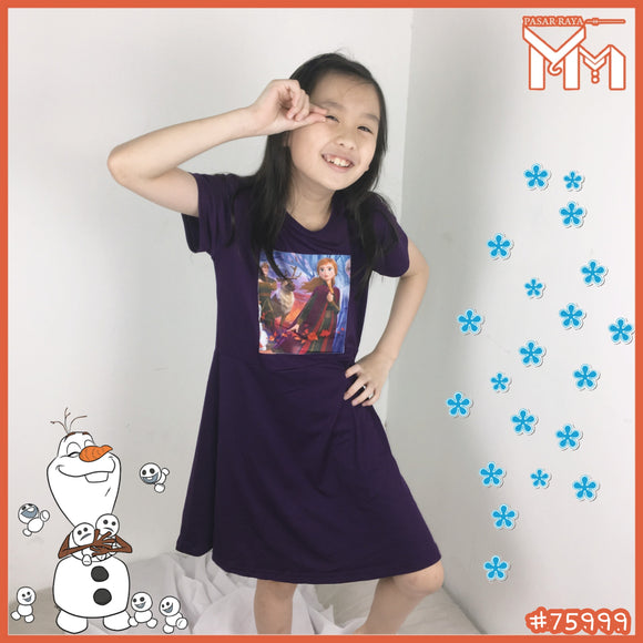 CHILD GIRL DRESS #75999
