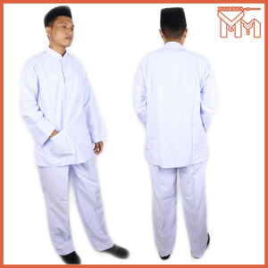 SCHOOL UNIFORM SECONDARY SCHOOL BAJU MELAYU KOSHIBO WHITE