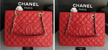 Load image into Gallery viewer, Chanel Caviar Grand Shopping Tote