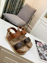 Load image into Gallery viewer, LV Flatform Sandal