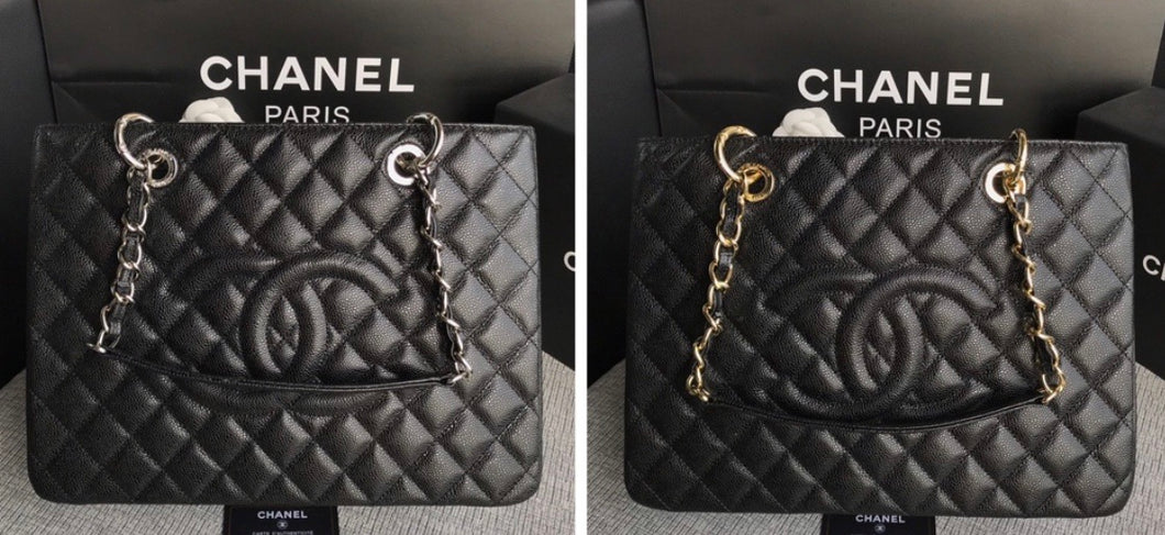 Chanel Caviar Grand Shopping Tote