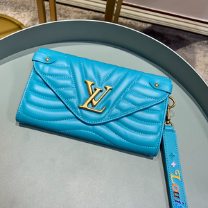 LV New Wave long wallet