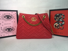 Load image into Gallery viewer, Gucci Marmont Matelasse tote