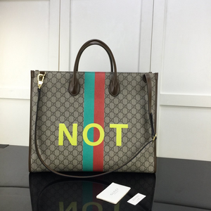 Gucci FAKE/NOT large tote