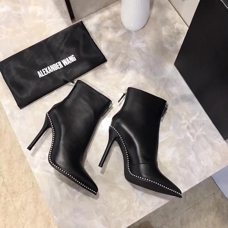 Alexander Wang Eri Studded Leather Bootie