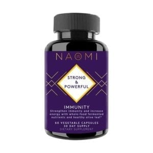 NAOMI Immunity Whole-Food 60ct