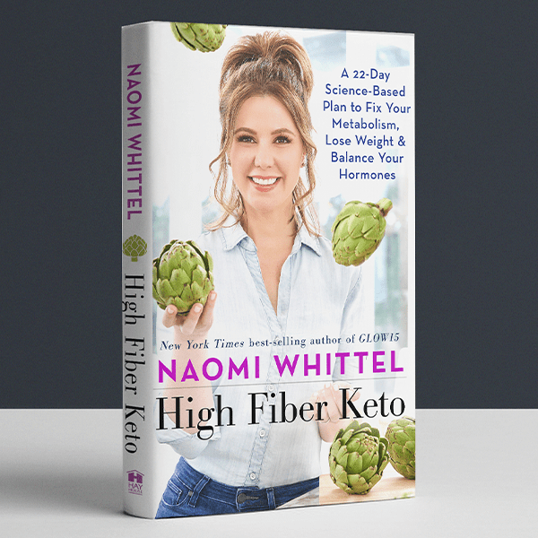High Fiber Keto Book - A 22-Day Plan to Fix Your Metabolism, Lose Weight, and Balance Your Hormones