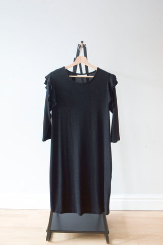 Jojo Maman Bebe Dark Grey Maternity Dress M