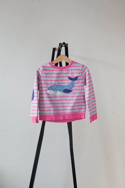 Boden Whale Jumper 3-4y