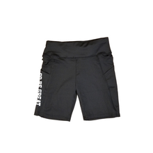 "Load image into Gallery viewer, ""Go Be Great On Purpose"" biker shorts"