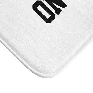 """Go Be Great On Purpose"" Bath Mat"