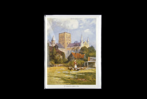 St Albans Abbey, 1905 greeting card