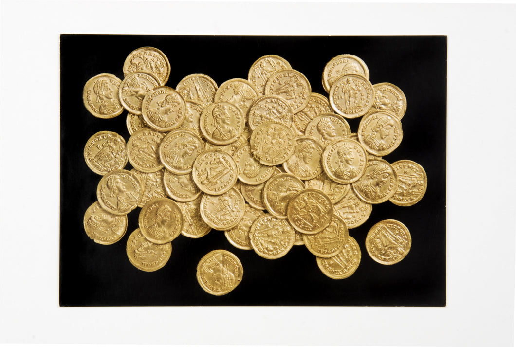 Sandridge Hoard postcard