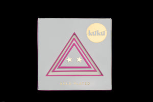 KUKU Star Earrings - Gold plate