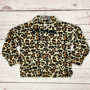 Primary Photo - BRAND: J CREW STYLE: FLEECE COLOR: ANIMAL PRINT SIZE: L SKU: 116-116126-33055