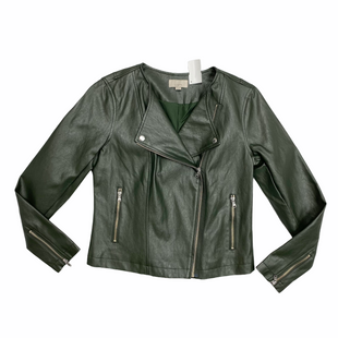 Primary Photo - BRAND: LOFT STYLE: JACKET OUTDOOR COLOR: OLIVE SIZE: S SKU: 116-116137-9292