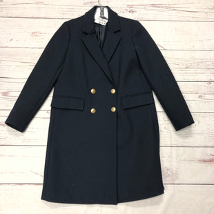 Primary Photo - BRAND: ZARA BASIC STYLE: COAT LONG COLOR: NAVY SIZE: M SKU: 116-116147-1030