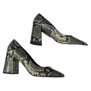 Primary Photo - BRAND: CHARLES BY CHARLES DAVID STYLE: SHOES HIGH HEEL COLOR: SNAKESKIN PRINT SIZE: 7.5 SKU: 116-116140-11234