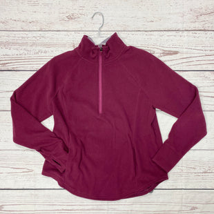 Primary Photo - BRAND: OLD NAVY STYLE: FLEECE COLOR: PLUM SIZE: L SKU: 116-116140-8271