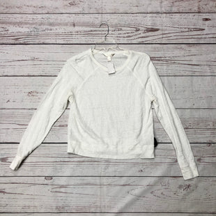 Primary Photo - BRAND: BANANA REPUBLIC STYLE: TOP LONG SLEEVE COLOR: WHITE SIZE: M SKU: 116-116134-7523