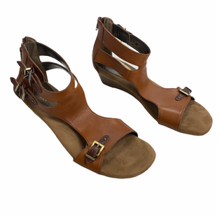 Primary Photo - BRAND: AEROSOLES STYLE: SANDALS LOW COLOR: BROWN SIZE: 8.5 SKU: 116-116126-35727