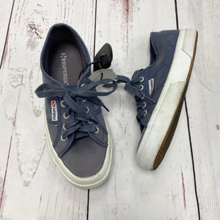 Primary Photo - BRAND: SUPERGA STYLE: SHOES ATHLETIC COLOR: BLUE SIZE: 7.5 SKU: 116-116137-6188