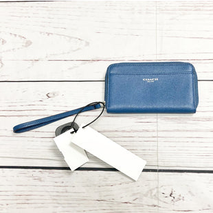 Wallet By Coach  Size: Small - BRAND: COACH STYLE: WALLET COLOR: BLUE SIZE: SMALL SKU: 116-116137-8041