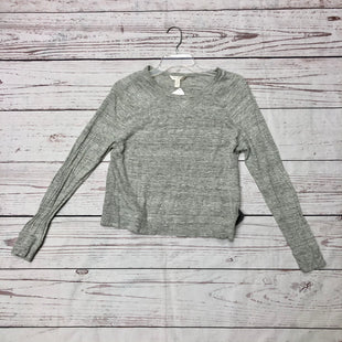 Primary Photo - BRAND: BANANA REPUBLIC STYLE: TOP LONG SLEEVE COLOR: GREY SIZE: M SKU: 116-116134-7522