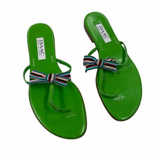 Primary Photo - BRAND:    ISAACSTYLE: SANDALS FLAT COLOR: LIME GREEN SIZE: 8 SKU: 116-116140-10972