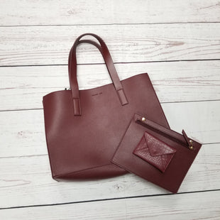 Primary Photo - BRAND: RACHEL ZOE STYLE: HANDBAG DESIGNER COLOR: BURGUNDY SIZE: LARGE OTHER INFO: TOTE WITH SNAP ACC SKU: 116-116152-12