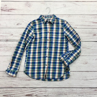 Primary Photo - BRAND: MADEWELL STYLE: TOP LONG SLEEVE COLOR: PLAID SIZE: M SKU: 116-116141-6481