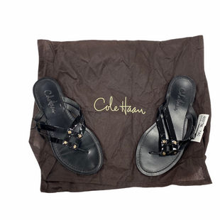 Primary Photo - BRAND: COLE-HAAN STYLE: FLIP FLOPS COLOR: BLACK SIZE: 6 SKU: 116-116141-8642