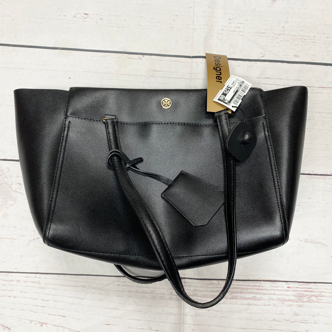 Primary Photo - BRAND: TORY BURCH <BR>STYLE: HANDBAG DESIGNER <BR>COLOR: BLACK <BR>SIZE: LARGE <BR>OTHER INFO: AS IS HANDLE <BR>SKU: 116-116140-7249