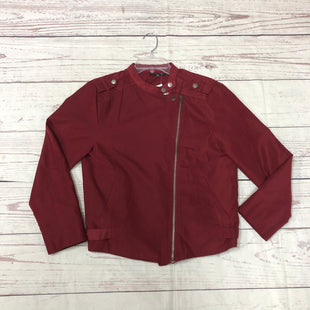 Primary Photo - BRAND: STACCATO STYLE: JACKET OUTDOOR COLOR: MAROON SIZE: L SKU: 116-116141-7856
