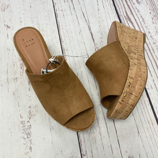 Primary Photo - BRAND: A NEW DAY STYLE: SANDALS HIGH COLOR: BROWN SIZE: 6 SKU: 116-116137-6253