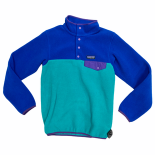 Primary Photo - BRAND: PATAGONIA STYLE: FLEECE COLOR: BLUE SIZE: XXS SKU: 116-116140-11218
