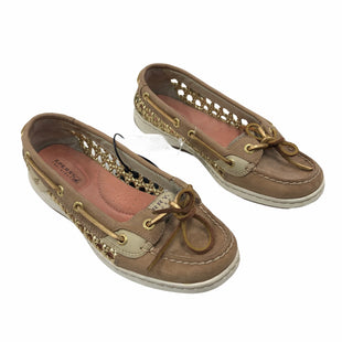 Primary Photo - BRAND: SPERRY STYLE: SHOES FLATS COLOR: BROWN SIZE: 6 SKU: 116-116140-11386
