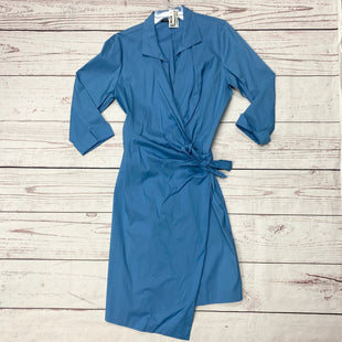 Primary Photo - BRAND: LAFAYETTE 148 STYLE: DRESS SHORT LONG SLEEVE COLOR: BLUE SIZE: 14 SKU: 116-116126-31479
