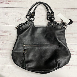 Primary Photo - BRAND: SALVATORE FERRAGAMO STYLE: HANDBAG DESIGNER COLOR: BLACK SIZE: LARGE OTHER INFO: AS IS INTERIOR SPOTS MSRP 1295 SKU: 116-116126-30640