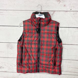 Primary Photo - BRAND: GAP STYLE: VEST DOWN COLOR: RED GREY SIZE: S SKU: 116-116134-7361