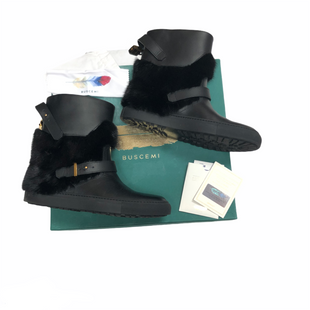 Primary Photo - BRAND:    CLOTHES MENTOR STYLE: BOOTS DESIGNER COLOR: BLACK SIZE: 9 OTHER INFO: BUSCEMI - MSRP $1895 COMES WITH AUTHENTICITY, BOX, DUST BAGSKU: 116-116140-10805