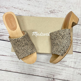 Primary Photo - BRAND: MADEWELL STYLE: SANDALS LOW COLOR: LEOPARD PRINT SIZE: 7 OTHER INFO: BRAND NEW!! COMES WITH BOX SKU: 116-116130-8594