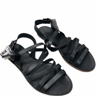Primary Photo - BRAND: MADEWELL STYLE: SANDALS FLAT COLOR: BLACK SIZE: 10 SKU: 116-116134-9933