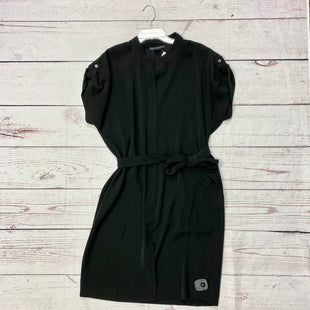 Primary Photo - BRAND:    CLOTHES MENTOR STYLE: DRESS SHORT SHORT SLEEVE COLOR: BLACK SIZE: L OTHER INFO: JOAN VOSS - SKU: 116-116140-7407