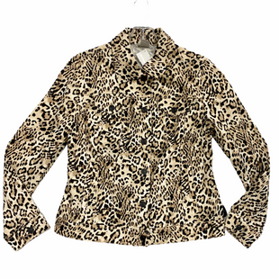 Primary Photo - BRAND: CHICOS STYLE: JACKET OUTDOOR COLOR: ANIMAL PRINT SIZE: S SKU: 116-116141-8839