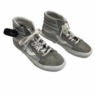 Primary Photo - BRAND: VANS STYLE: SHOES ATHLETIC COLOR: GREY SIZE: 7.5 OTHER INFO: AS IS-MSRP $120 SKU: 116-116147-2063