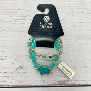Primary Photo - BRAND:    CLOTHES MENTOR STYLE: BRACELET COLOR: AQUA SIZE: 03 PIECE SET OTHER INFO: POMINA - SKU: 116-116141-5057