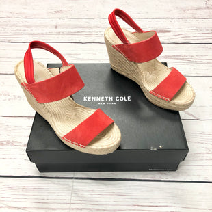 Primary Photo - BRAND: KENNETH COLE STYLE: SHOES HIGH HEEL COLOR: RED SIZE: 8.5 OTHER INFO: OLIVIA SIMPLE ESP--BOX SKU: 116-116137-8049