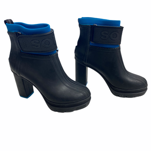 Primary Photo - BRAND: SOREL STYLE: BOOTS RAIN COLOR: BLUE SIZE: 7 OTHER INFO: AS IS SKU: 116-116147-2150