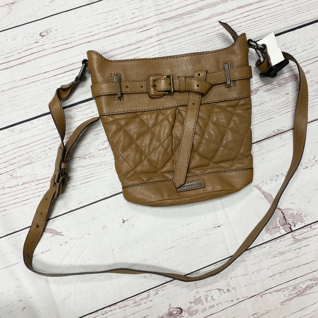 Primary Photo - BRAND: BURBERRY <BR>STYLE: HANDBAG DESIGNER <BR>COLOR: BROWN <BR>SIZE: SMALL <BR>OTHER INFO: AS IS CORNERS <BR>SKU: 116-116126-29053